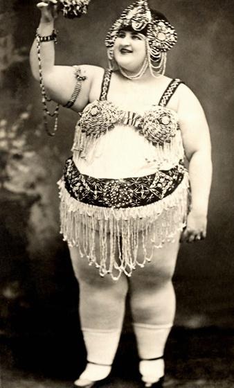 Heavy Woman In Costume