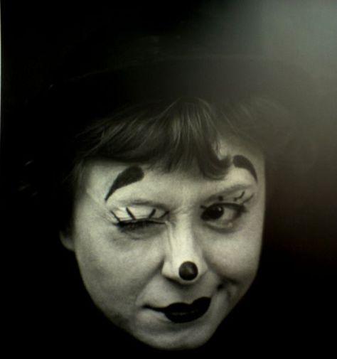 Giulietta Masina in Fellini's La Strada